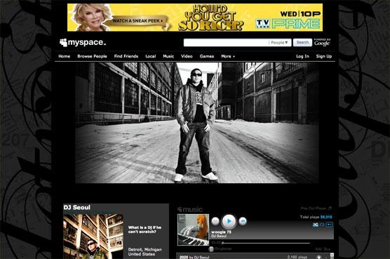 DJ Seoul Myspace