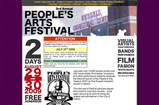 People's Arts Festival